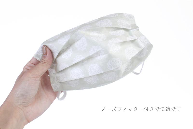 レース柄不織布マスクセット(2719)